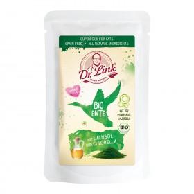 Dr. Link® SUPER NATURAL BIO Ente mit Lachsöl und Chlorella | 15x150g